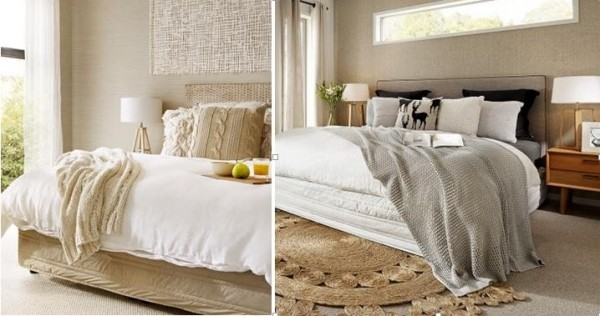 Styling With Throws Carlisle Homes Classy How To Drape A Throw Blanket On A Bed