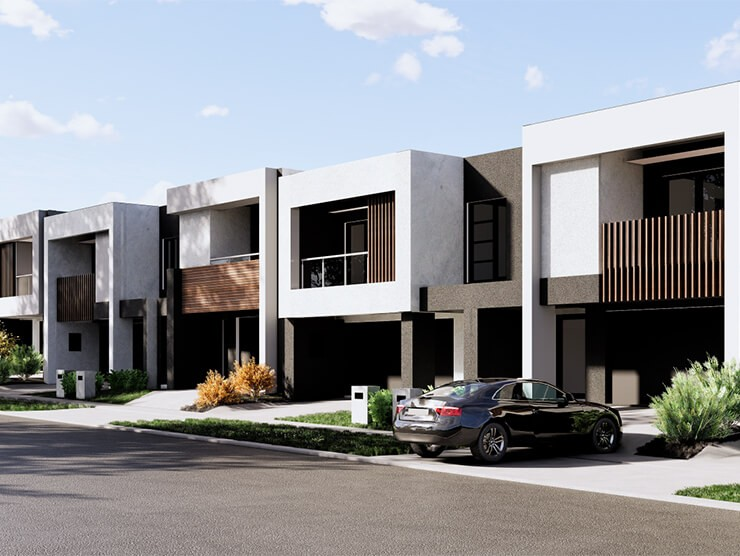 6 Townhomes 740 x 556