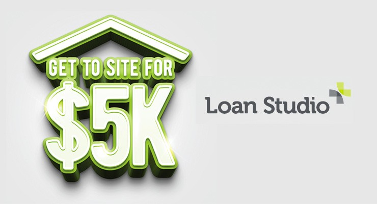 5k loan studio special offer