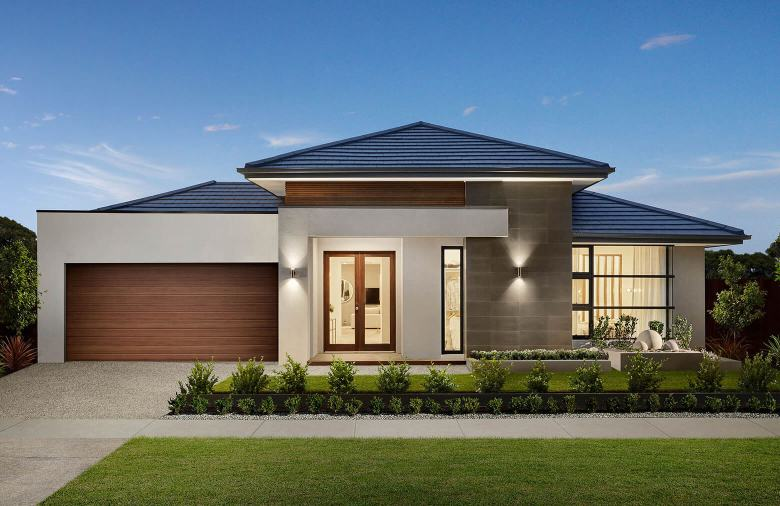 Brand new display homes
