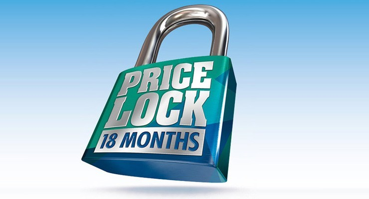 price lock special offer