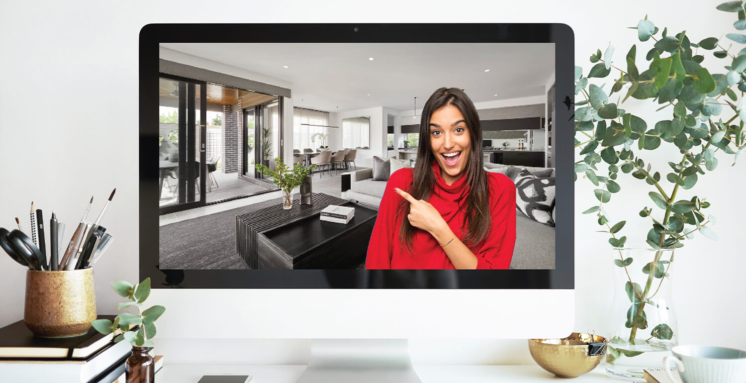 Up Your Video Call Cred With A Carlisle Homes Interior Background Carlisle Homes