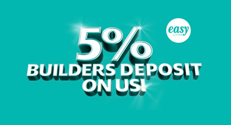 builder deposit paid special offer