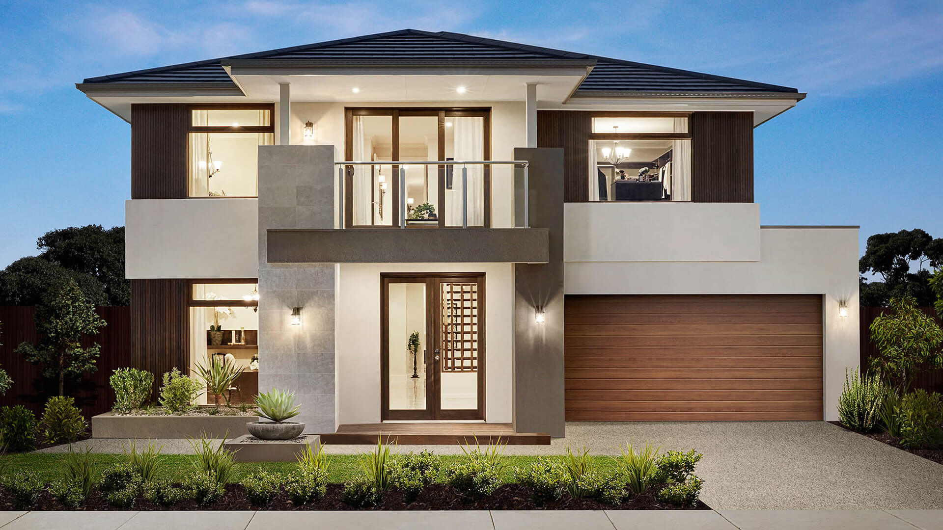 Montpellier Grand Houston Facade As Displayed At Highlands, Craigieburn